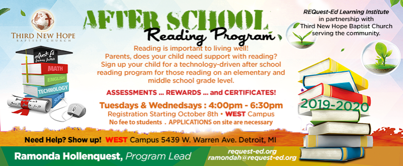 After-School Reading Support